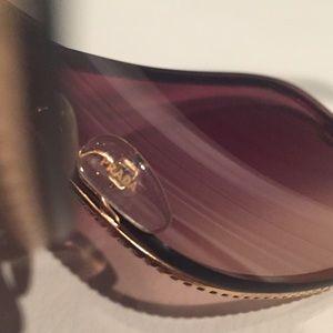 Prada Accessories - Prada Gold Velvet Rope Sunglasses - Made in Italy